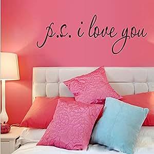... San Valentino, Decorazione da Muro per Casa Camera da Letto: Amazon.it