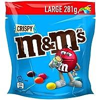 M&M'S | Crispy | Schokolinsen mit Knusperkern | Eine Packung (1 x 281 g)