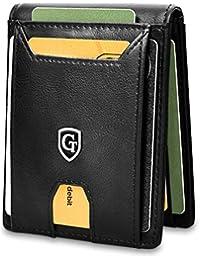 Atlanta Billetera de Hombre con Clip para el Dinero - Bloqueador Certificado de RFID - Billetera para Hombres con protección RFID Incluyendo Caja de Regalo - Smart Wallet