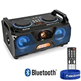 Best Bluetooth Boomboxes - Fenton Portable Stereo Boombox Bluetooth Speaker USB Built-In Review