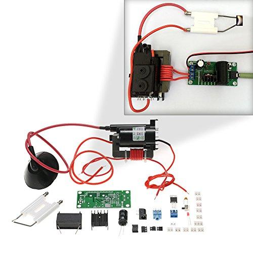Kkmoon 20kv Zvs Tesla Coil Booster High Voltage Generator Plasma