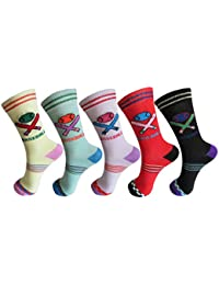 RC. ROYAL CLASS ANIMATED DESIGN SOCKS FOR BOYS/GIRLS PACK OF 5