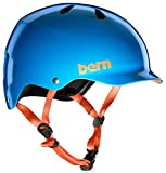 Bern WATTS H2O Helm 2018 Gloss Azure Blue