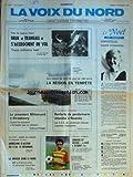 Telecharger Livres VOIX DU NORD LA No 12563 du 24 11 1984 NOUVELLE CALEDONIE RENFORTS DE GENDARMERIE ATTENDUS A NOUMEA ALSACE MITTERRAND A STRASBOURG LA REGION EN TEMPETE PRES DE CASTRES DEUX TRANSALL S ACCROCHENT EN VOL LES SPORTS FOOT LA DROGUE DANS LE NORD (PDF,EPUB,MOBI) gratuits en Francaise