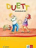 DUETT Schülerbuch 3/4 (Musik in der Grundschule spezial)