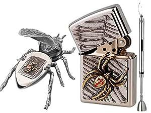 Zippo briquet spider on edge vol. 4 limited edition xXXX/1000 &-briquet