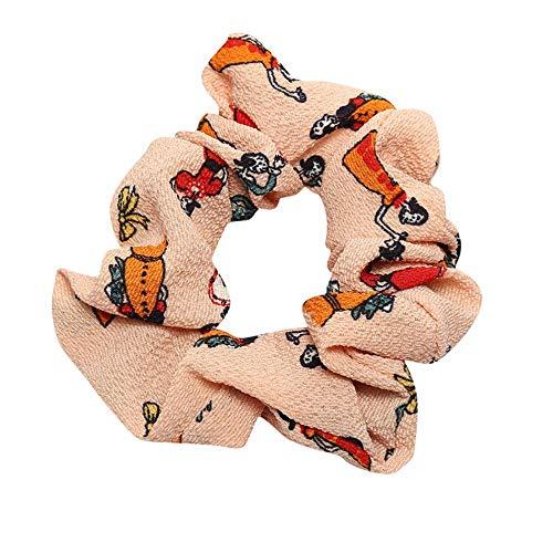 LUGOW Damen Yoga Stirnbänder Elastic Nettes Turban Geknotetes Bandanas Turban Head Wraps Hair Beads Breit Haarbänder Haarreife Haarspangen Haargummis Haarschmuck(Z04196-Rosa)