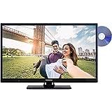 Telefunken XH24A101D 61 cm (24 Zoll) Fernseher (HD Ready, Triple Tuner, DVD-Player)