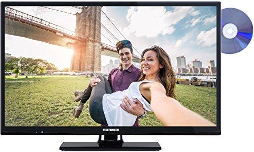 Telefunken XH24A101D 61 cm (24 Zoll) Fernseher (HD Ready, Triple Tuner, DVD-Player) schwarz