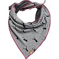 Dreieckstuch Schal Halstuch mit Hirschmotiv für Kinder und Jugendliche von Cherry&Magnolia