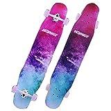 RONGXIN Longboard Skateboard - Vierrad Scooter - Pinsel Street Boys Und Girls Dance Board Erwachsene Dancing46.5 Inch Anfänger