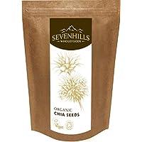 Sevenhills Wholefoods Organic Raw Chia Seeds 500g