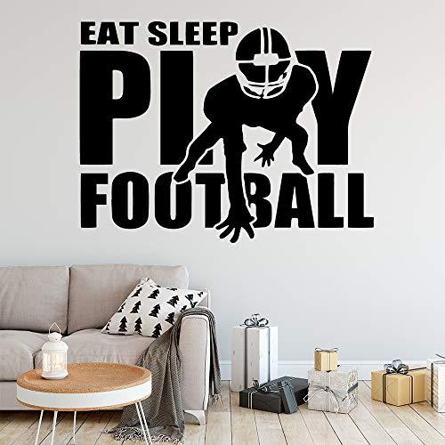 BFMBCH Fußball wandkunst wand applique wandaufkleber PVC material vinyl aufkleber kunst dekoration dekoration wandaufkleber 57 cm X 75 cm