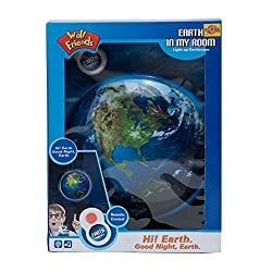 Venus-Planet Of Toys, Wallfrends Earthspace Wall Hanging With Light, Remote Control Sound, AA Battery Operated Toy