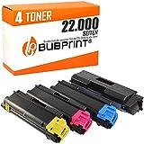 4 Bubprint Toner kompatibel für Kyocera TK-590 für Ecosys M6526CDN P6026CDN M6026CDN M6026CIDN...