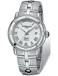 Raymond Weil - Reloj de pulsera hombre, color plateado