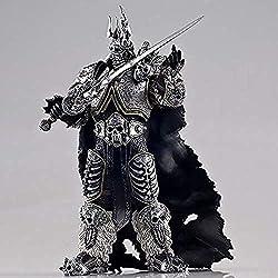 Qivor Anime Spielzeug LLJJ Anime-Abbildung Modell Arthas Menethil Statue handgemachte Dekoration Sammlerkinderspielzeug 17CM Spielzeug