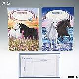 Miss Melody Hausaufgabenheft-Pferde