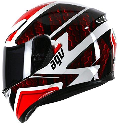 AGV K3 Sv Puls schwarz/rot Motorrad Integralhelm