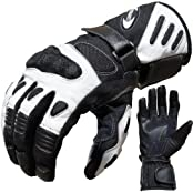 PROANTI 500305XXXLW, Motorradhandschuhe Summer PROANTI Motorrad Handschuhe (Gr. M - XXL, Weiß)