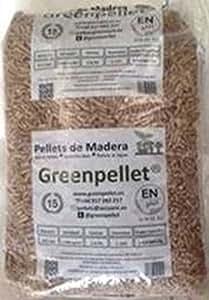 Pellet Greenpellet-Stufa A Plus A-1 Greenpellet 15 Kg