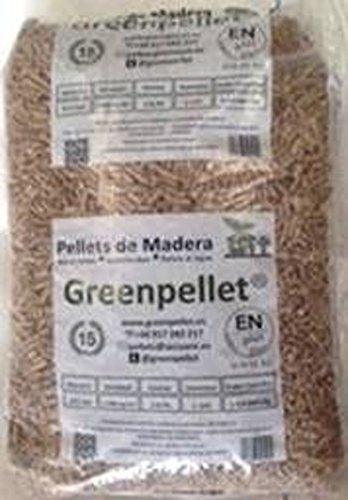 Pellet greenpellet-stufa a plus a-1 greenpellet 15 kg