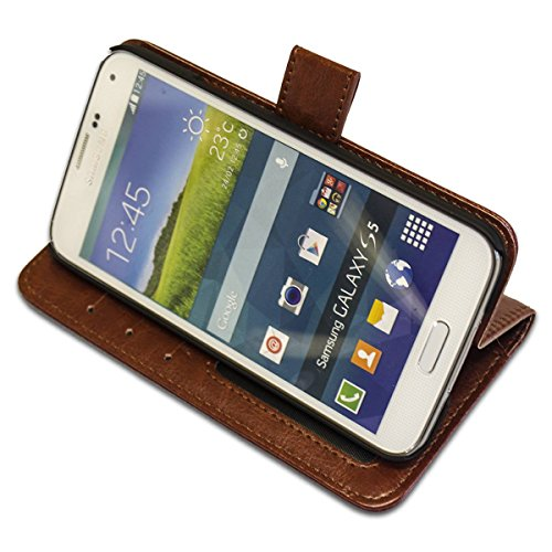 Collection 101, Custom Samsung S5Cas dur Hard Case Coque Housse en Cuir Leather Flip Case. Toulouse Lautrec - Mlles Eglantines