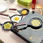 shree krishna Lovely Cartoon Shape Mini Non-Stick Egg Frying Pan/Pancake Egg Frying Pan/Breakfast Omelette Pan omlette...
