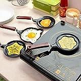 shree krishna Lovely Cartoon Shape Mini Non-Stick Egg Frying Pan/Pancake Egg Frying Pan/Breakfast Omelette Pan (Design May Vary) omlette pan Non Stick, Egg Frying pan