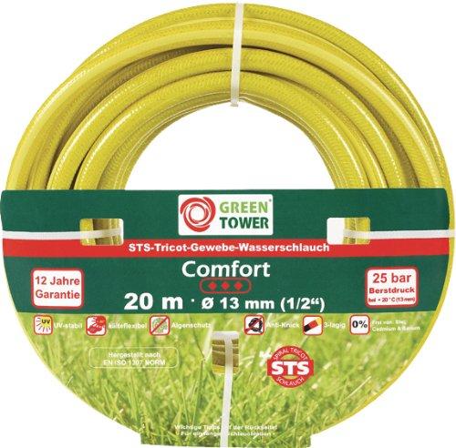GREEN TOWER TUYAU TRICOT COMFORT 1/2X20M
