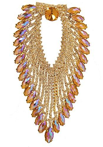 Stil 8800folienbeschichtete Sew oder Klebstoff auf Jeweled Aufnäher für Hochzeit Kleid und...