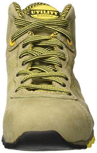 Diadora Beat High S3 Hro, Chaussures de Travail Mixte Adulte Gris (Grigio Roccia Lunare)