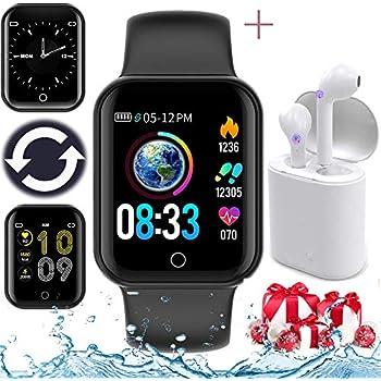 AIMIUVIE Smartwatch, Reloj Inteligente IP67 con Pulsómetro ...
