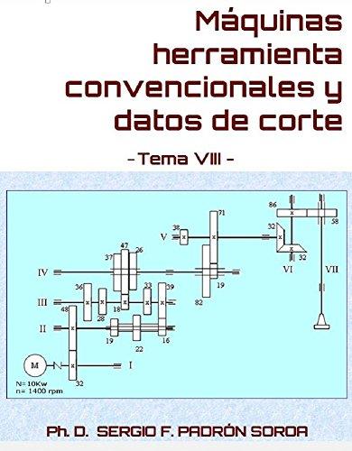 Máquinas herramienta convencionales y datos de corte: Tema VIII por Sergio F. Padrón Soroa PhD