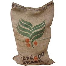SABOREATE Y CAFE THE FLAVOUR SHOP Tela de Saco de Café de Origen Brasil Reutilizado para