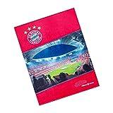 FC Bayern München Kuscheldecke, Decke, Fleecedecke Allianz Arena FCB - Plus gratis Lesezeichen I Love München
