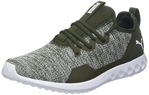 Puma Damen Carson 2 X Knit Laufschuhe Grau (Forest Night White), 43 EU