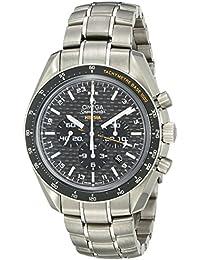 Omega 321.90.44.52.01.001 - Reloj para hombres, correa de titanio