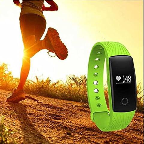 Mp3-Player fitness tracker,Wasserdicht Sport Smart Armband,Herzfrequenz Schrittzähler uhr,Technik Wissenschaft fitness uhr,Damen Herren fitness armband,Sport-fitness armband