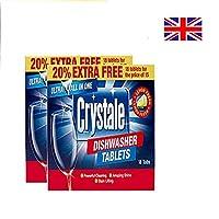 Crystale Starter Combo - Dishwasher Tablets Pack of 2