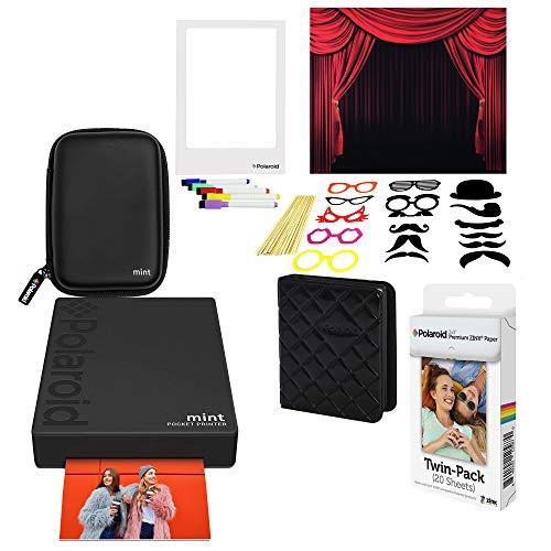 rer Fotodrucker (Schwarz) Photo Booth Kit ()