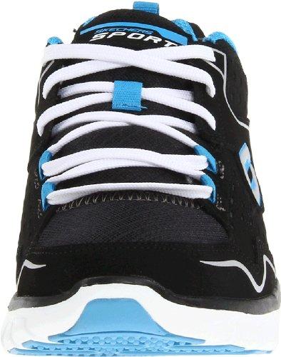 Skechers  SynergyA Lister,  Sneaker donna Nero (Schwarz (BKBL))
