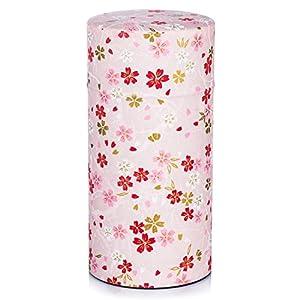 Grande Boîte à Thé Japonaise en Rose