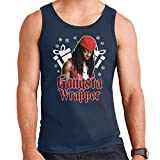 Photo de Gangsta Wrapper Lil Wayne Christmas Men's Vest par Coto7