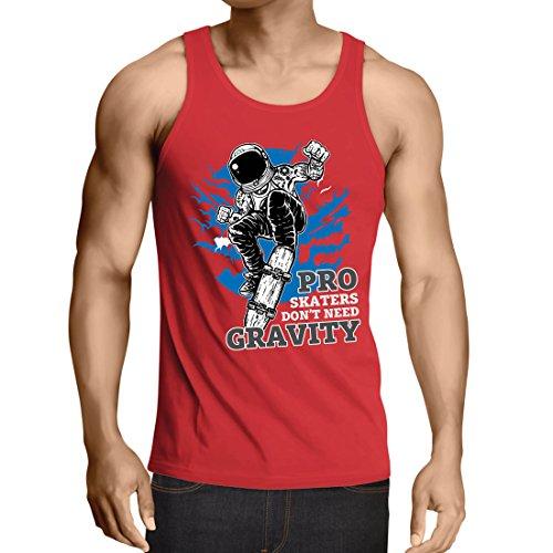 Camisetas Tirantes Hombre Pro Skaters Don't Need Gravity