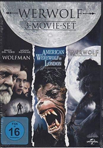 Werwolf Klassiker Box - WOLFMAN + AMERICAN WERWOLF IN LONDON + WERWOLF - DAS GRAUEN LEBT UNTER UNS 3 DVD Box Limited Edition