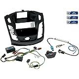 1-DIN Radioeinbau-Komplettset Ford Focus Bj. ab 2011, kl. Display