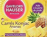 Gayelord Hauser Carres Konjac Ananas Complément pour Perte de Poids - 100g