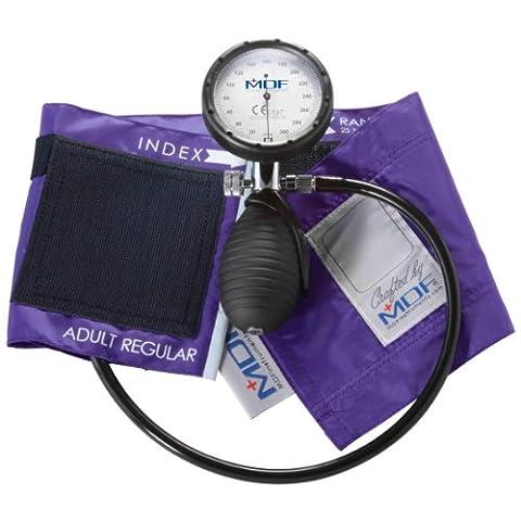 MDF Instruments Medic Palm Aneroid Sphygmomanometer Purple