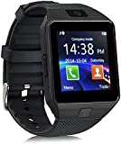 Zomtop DZ09 Bluetooth Smart Watch Wristwatch with Camera Sync to Android IOS Smart Phone Samsung S5 / Note 2 / 3 / 4,nexus 6,htc,sony,huawei and Other Android Smartphones(black)